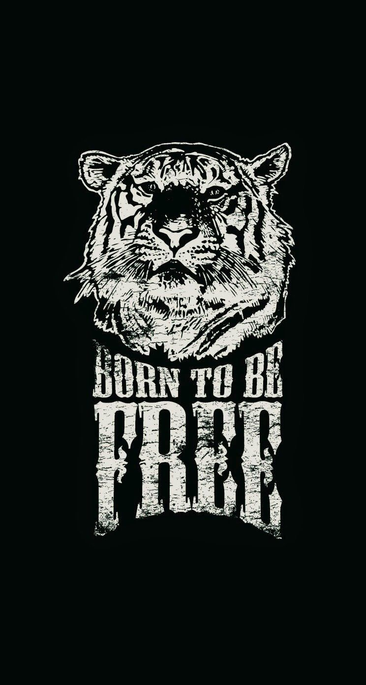 60 Typography Iphone Wallpapers Download For Free Tiger Illustration Iphone 5s Wallpaper Halloween Wallpaper