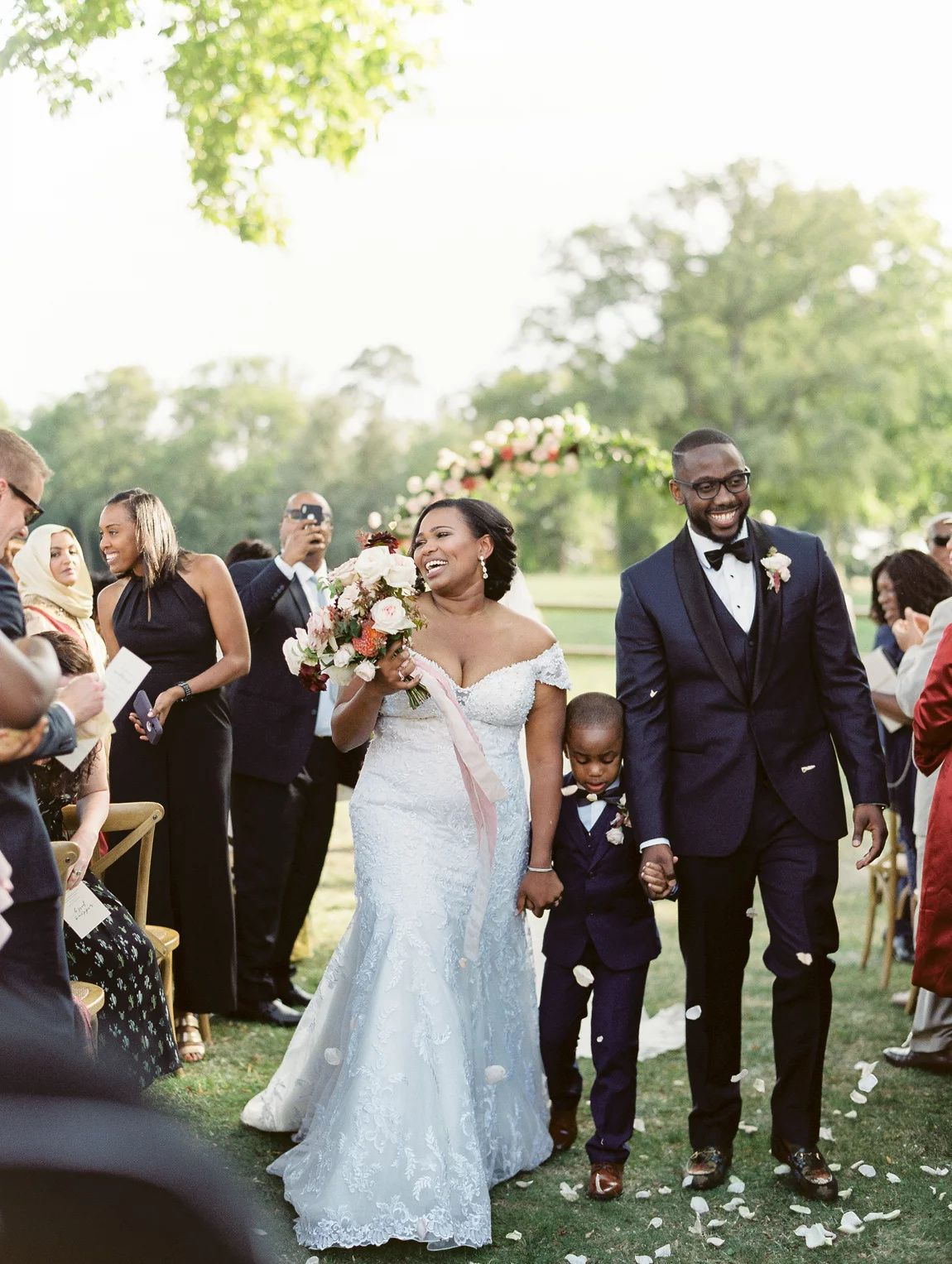 How To Make Your Ceremony Recessional Special In 2020 Wedding Recessional Groom Portrait Wedding