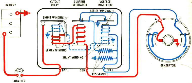 Delco Remy Generator Wiring Circuit | Electrical Concepts