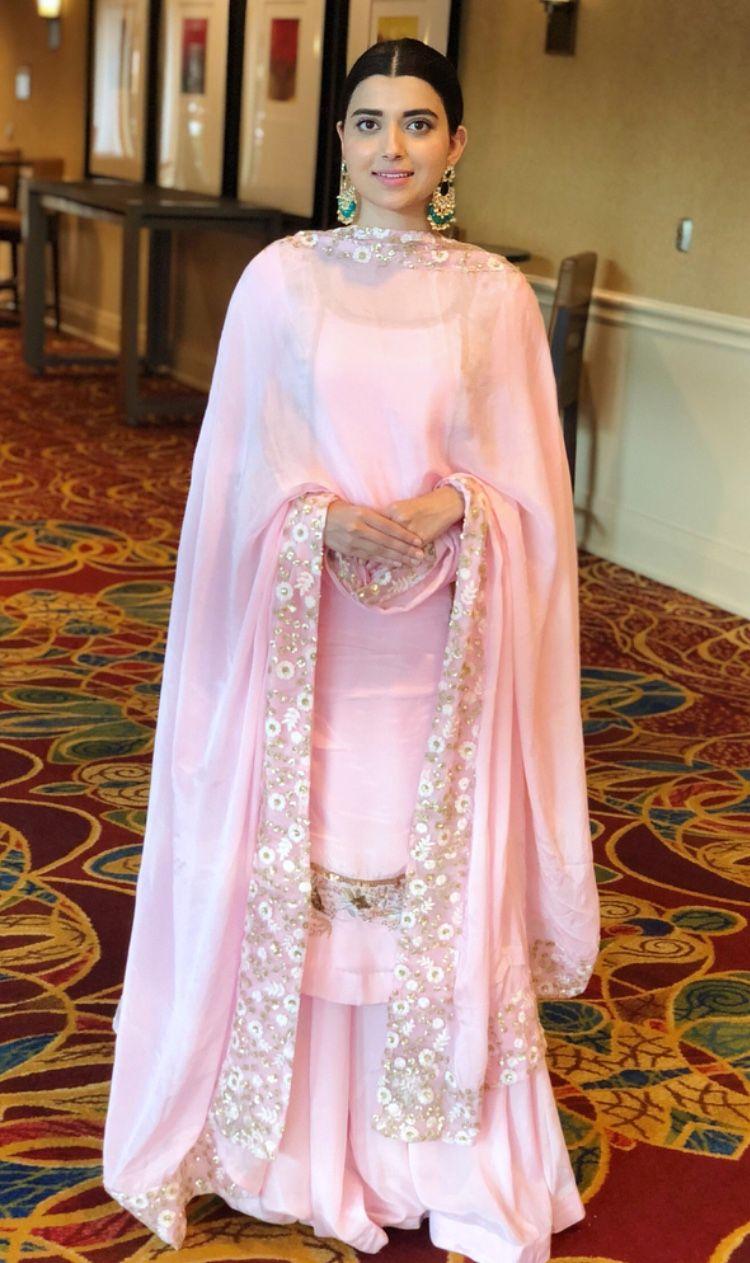 Nimrat khaira, #Nimratkhaira, #cute, #cutegirls, #cutegirl | Party wear  indian dresses, Indian designer outfits, Pakistani dress design