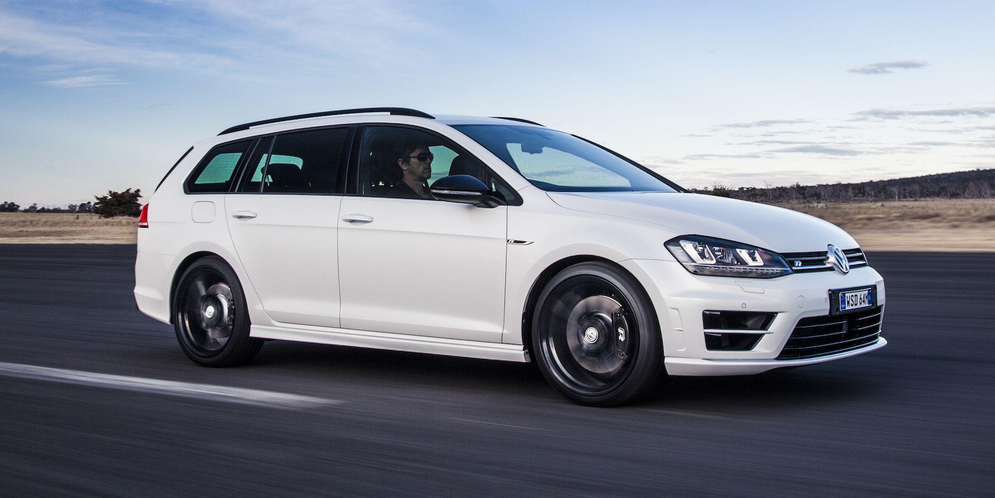 2016 Volkswagen Golf R Wagon Review Photos CarAdvice