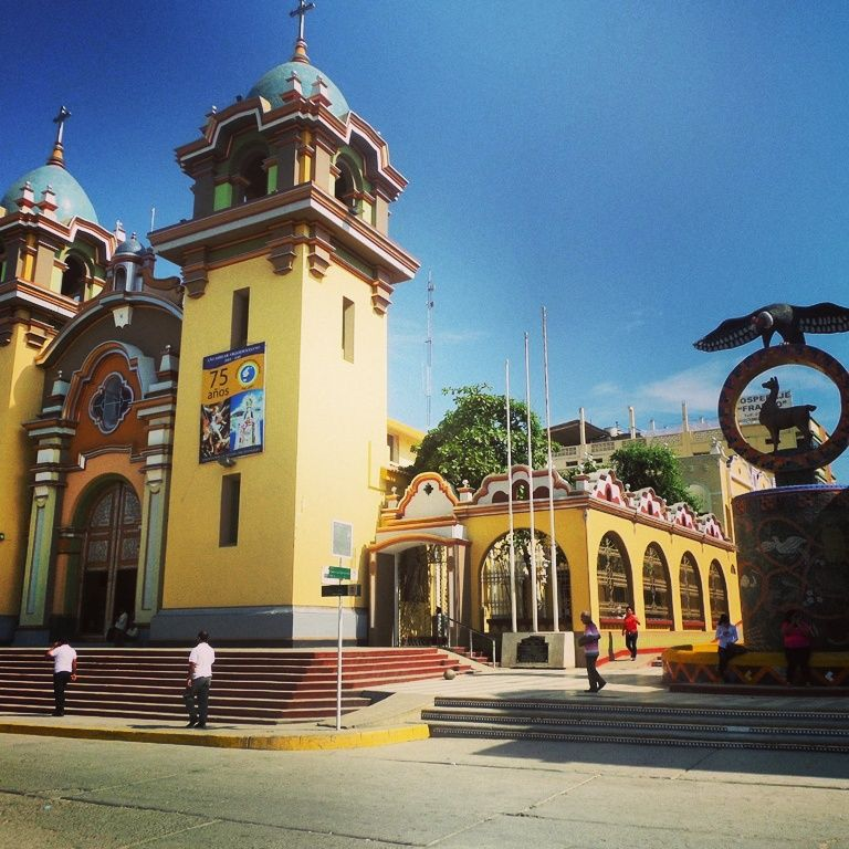 Plaza De Armas Tumbes Peru House Styles Mansions Beach