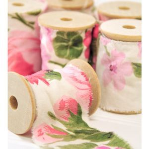 fabric ribbon from The Shoppe at Somerset