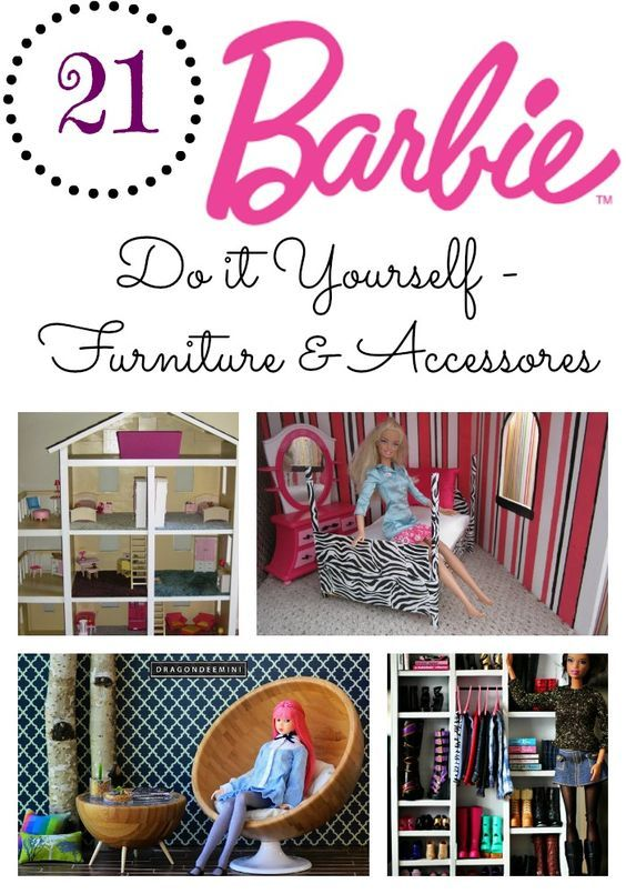 Good Barbie 21 Diy Furniture And Accessories