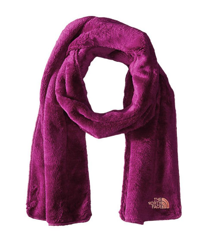 THE NORTH FACE Denali Dramatic Plum Thermal Fleece Scarf Womens O/S NWT  #TheNorthFace