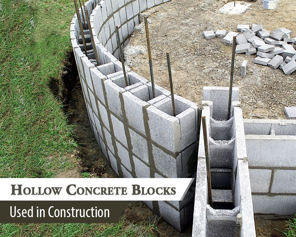 Hollow Concrete Blocks All You Need To Know In 2020 Concrete Blocks Types Of Concrete Concrete