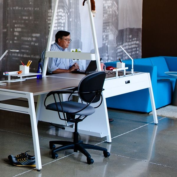Bivi Table For One Offers A Clean, Simple, Well Designed Place To Work