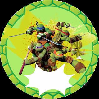 Passatempo Da Ana Tartarugas Ninja Cumple De Manu Aniversario