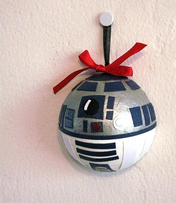 star wars r2d2 holiday christmas ornament 15 new small. Black Bedroom Furniture Sets. Home Design Ideas