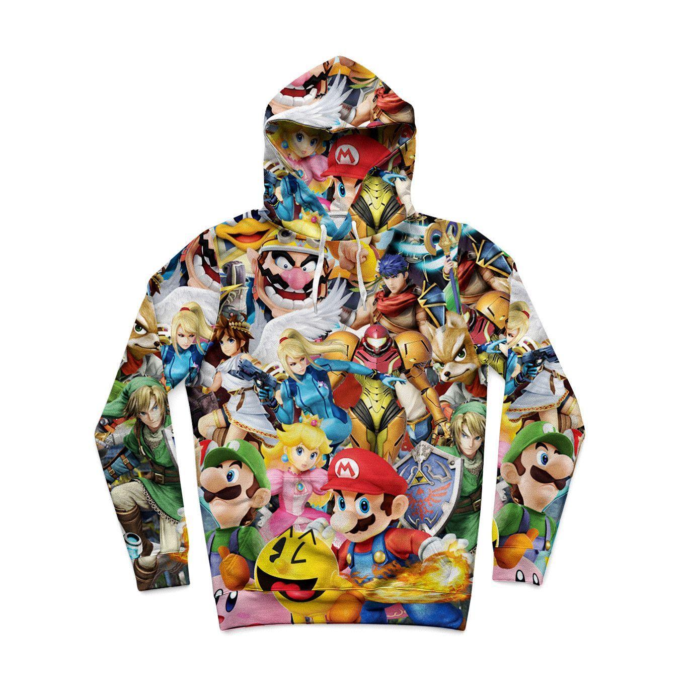 Super Smash Bros Brawl Hoodie