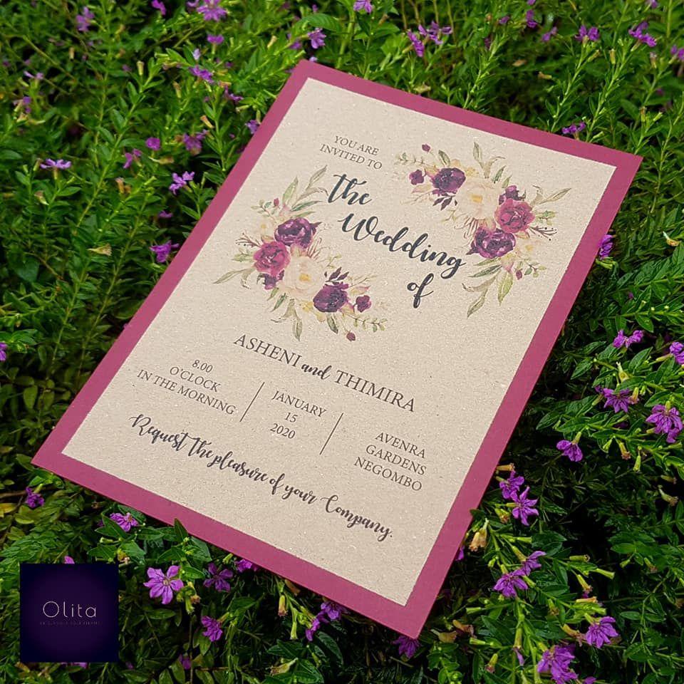 Olita We Design Unique Wedding Invitation Cards And Wedding Cake