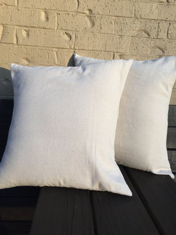 Blank Canvas Pillow Cover Blank Pillow Cover Throw