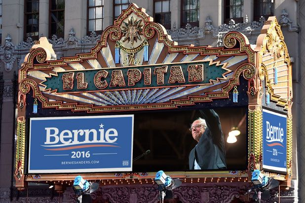 Bernie Sanders Faces Uphill Battle for Hollywood Support