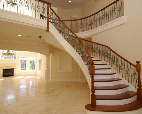 Gorgeous staircase design with elegant design bright for Elegant stairs design