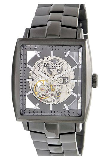 983746454 Kenneth Cole New York Square Case Automatic Watch available at #Nordstrom