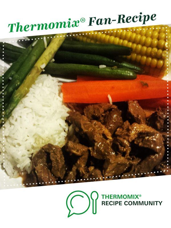 Honey Soy Beef Recipe Thermomix Recipes Dinner Thermomix Recipes Thermomix Recipes Healthy