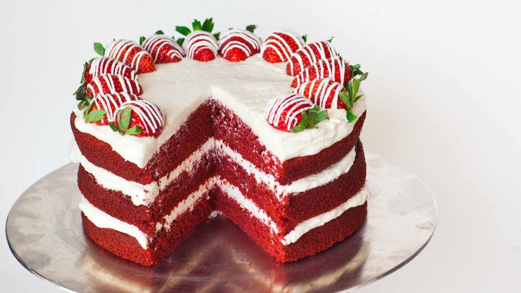 Red Velvet Cake Video Tatyanas Everyday Food Recipe Velvet Cake Recipes Red Velvet Cake Red Velvet Cake Recipe