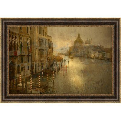 Ashton Wall Décor LLC \'Grand Canal Venezia\' Framed Graphic Art ...