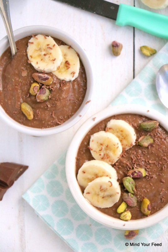 havermout smoothie bowl