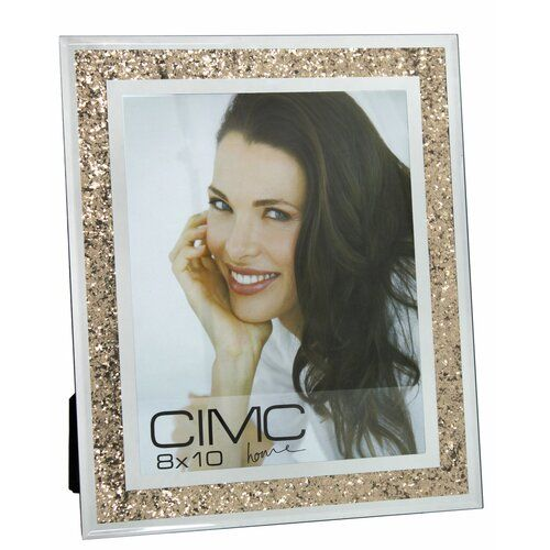 Diamond Crush Picture Frame Rosdorf Park Size 10 X 8 Colour Gold 2020 Beautiful Mirrors Glitter Photo 10 Picture