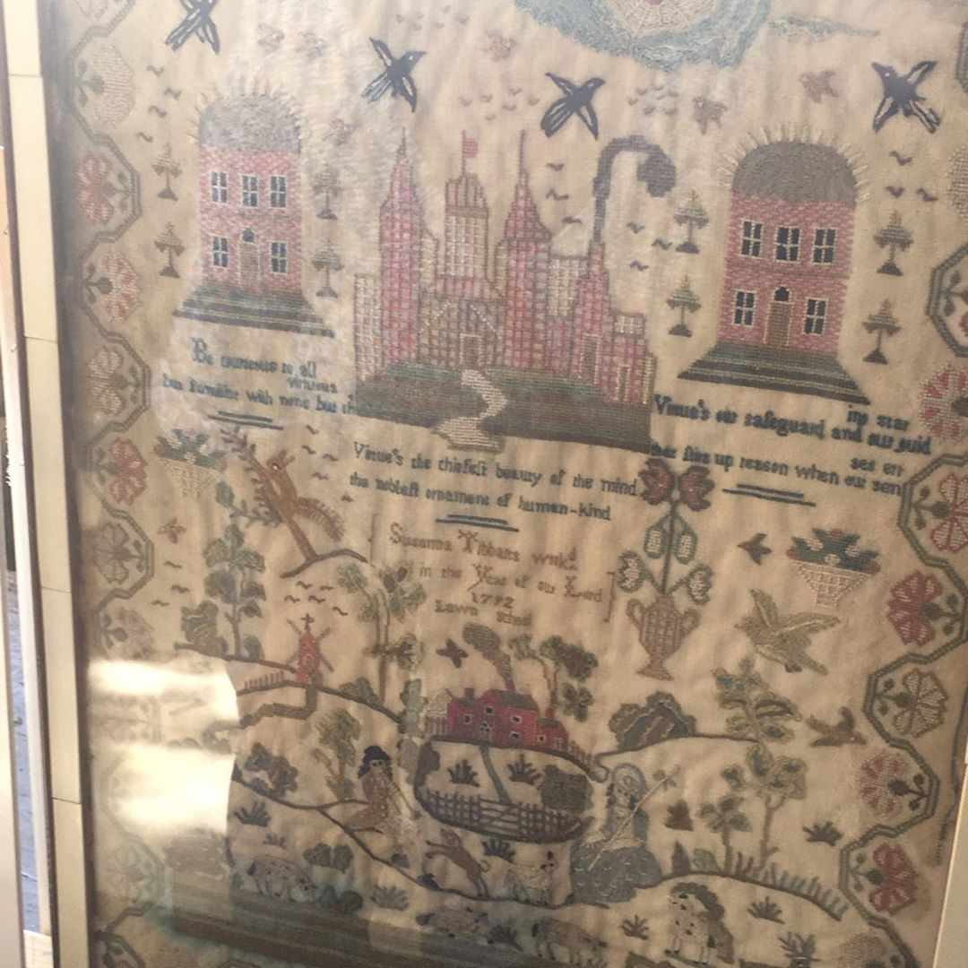 I Didn T Take Many Photos Of The Stunning Needlework