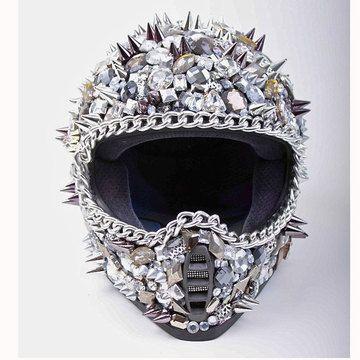 Casco MotocicletaPaola Y Un De En Cristales Pinchos tshxrdQC