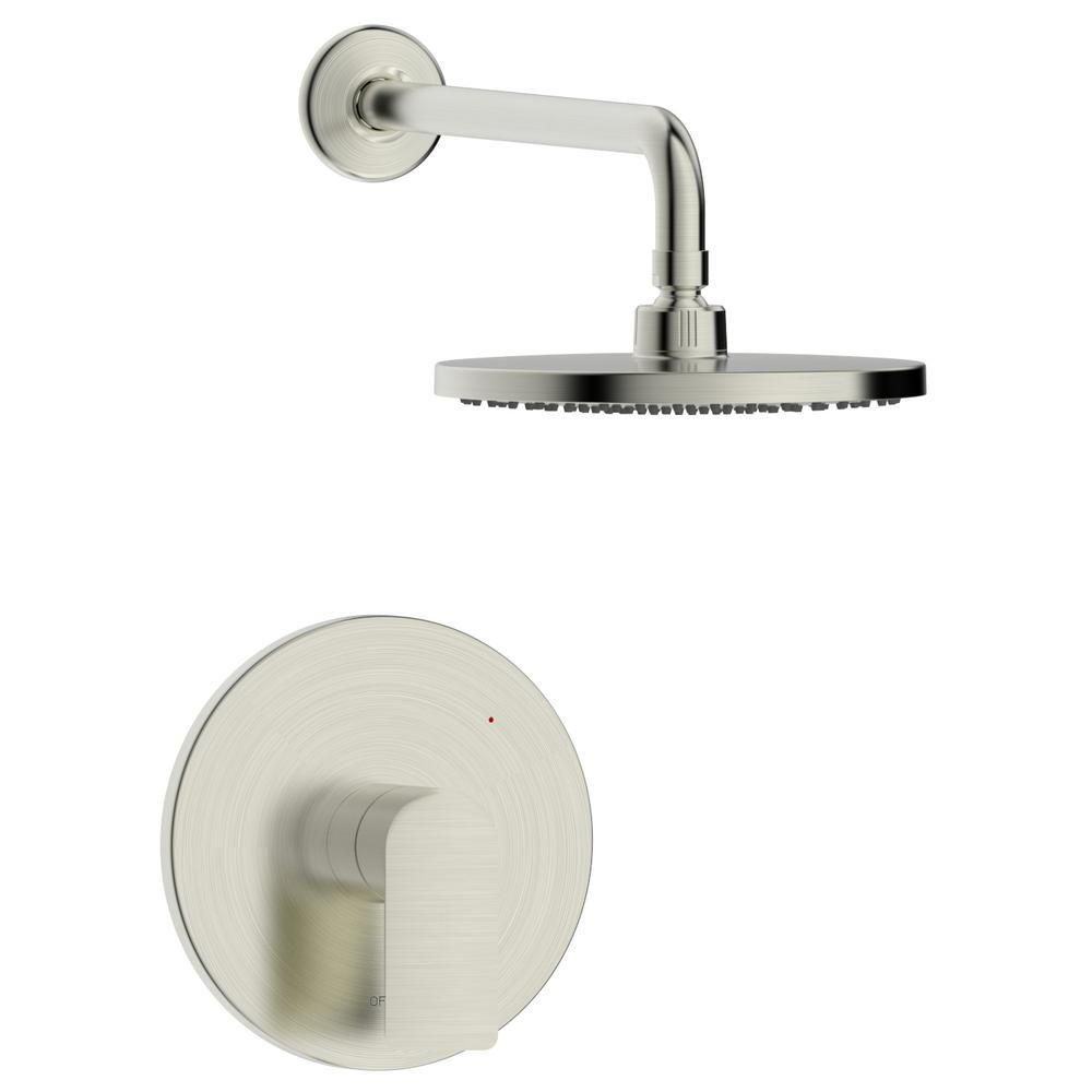 Fontaine By Italia Pont Neuf Single Handle 1 Spray Round Shower