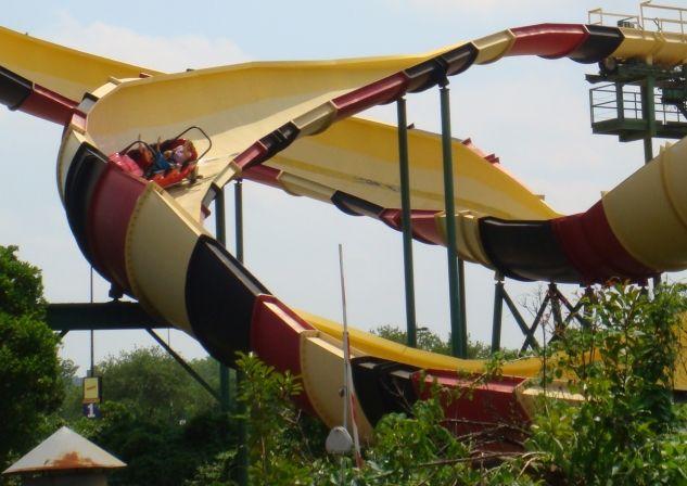Six Flags Roller Coasters La Vibora Six Flags Over Texas Bobsled Roller Coaster Six Flags Over Texas Six Flags Roller Coaster