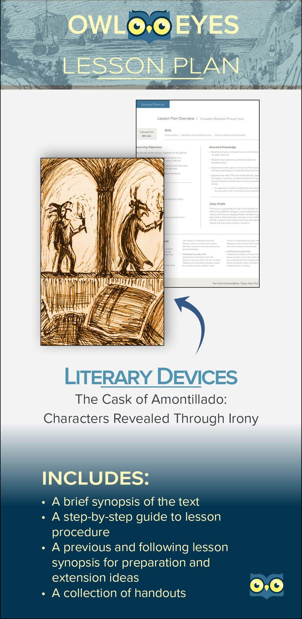 the cask of amontillado literary analysis