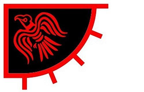 Scandinavian Viking Raven Flag 3 X 4 Foot Red And Black Norse Pirate Banner New Be Sure To Check Out This Awesome Product Viking Raven Vikings Flag Store
