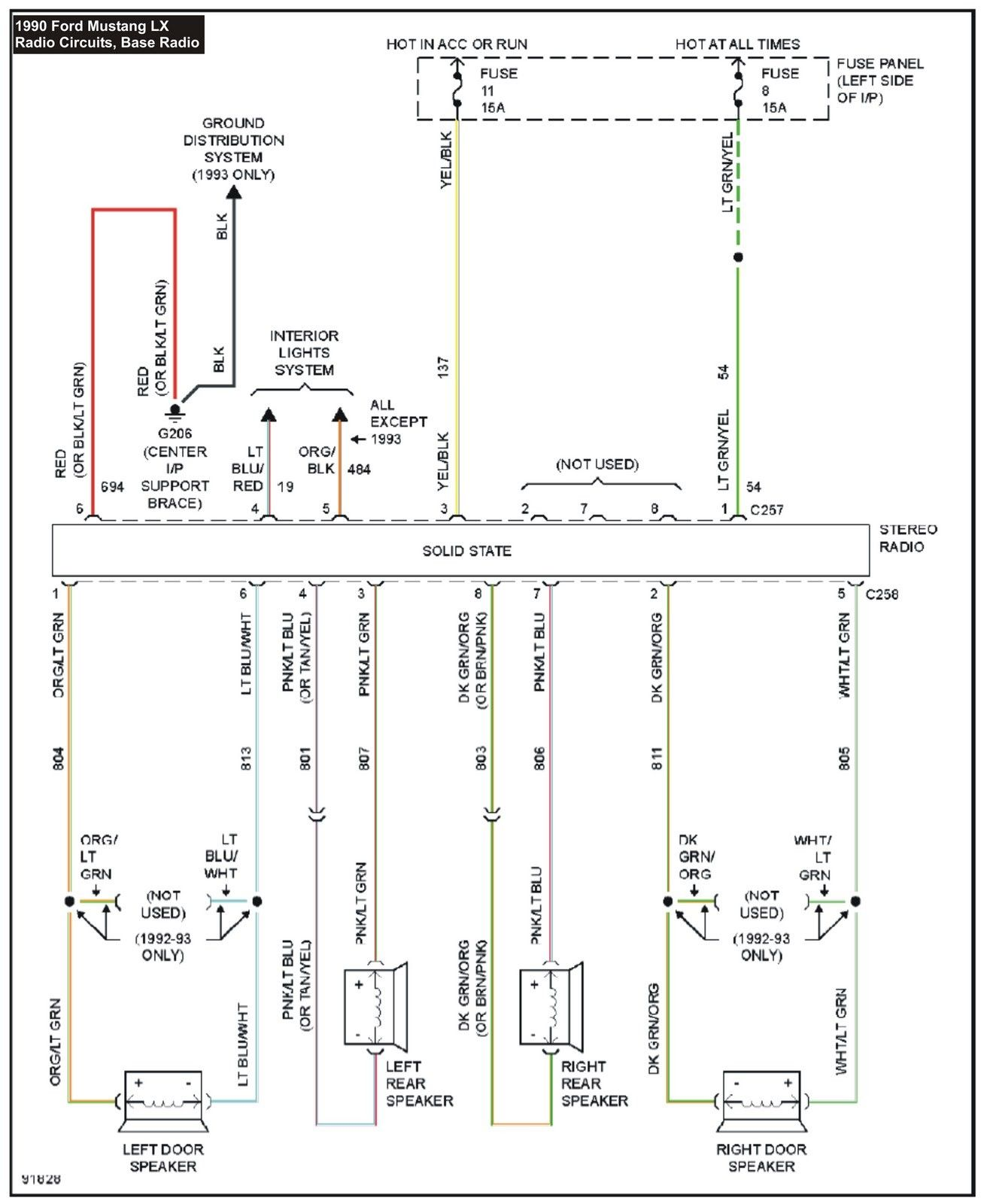 Unique Wiring Diagram For Ac Delco Radio Diagram