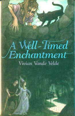 A WellTimed Enchantment Cover art written by Vivian