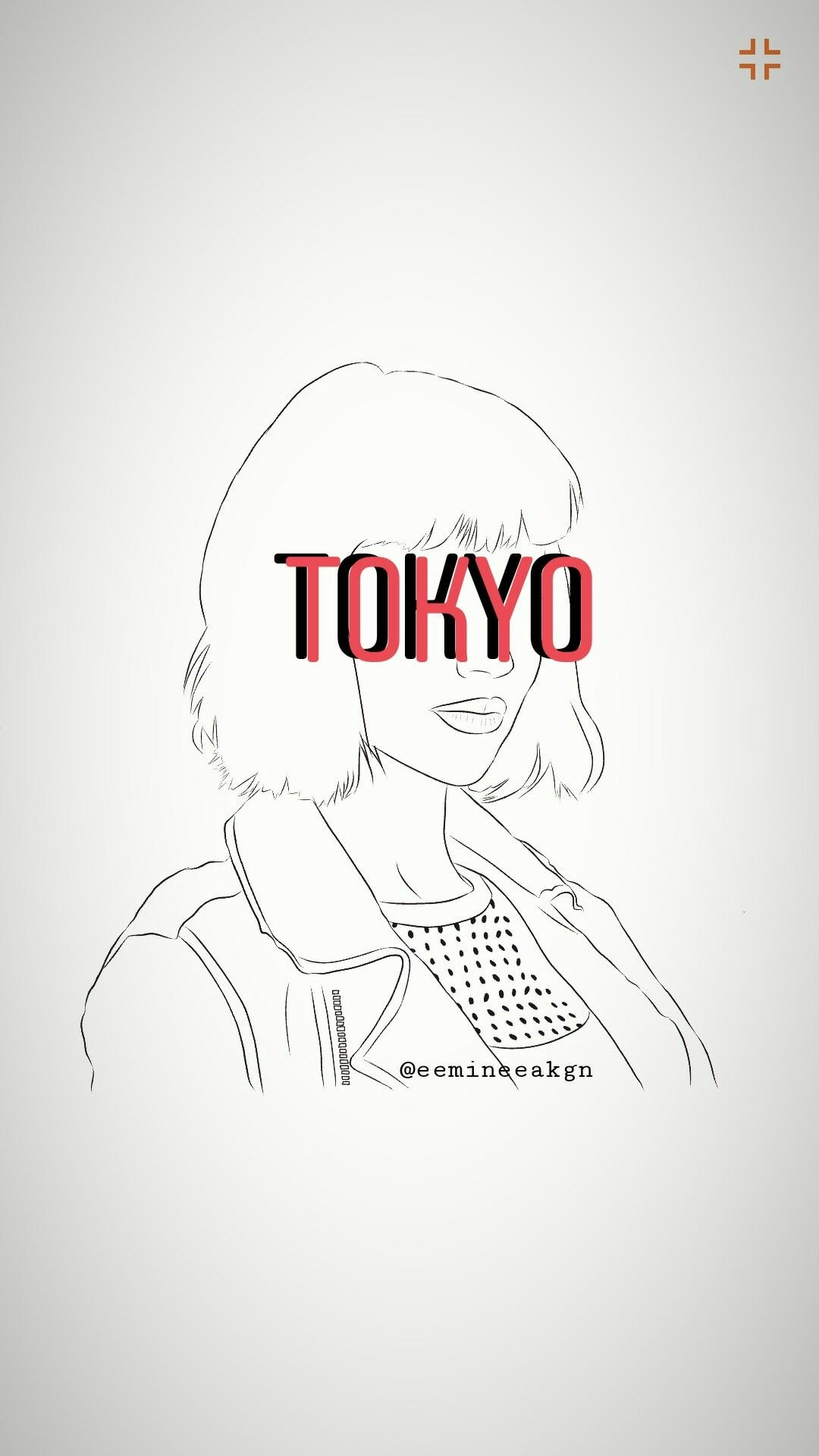La Casa De Papel Tokyo Wallpapers Layout Portrait Line Drawing Face Illustration Las Casas De Papel Casa De Papel Casas De Papel