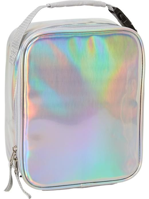 0b3ee1e55fce Girls Iridescent Lunch Bag Product Image