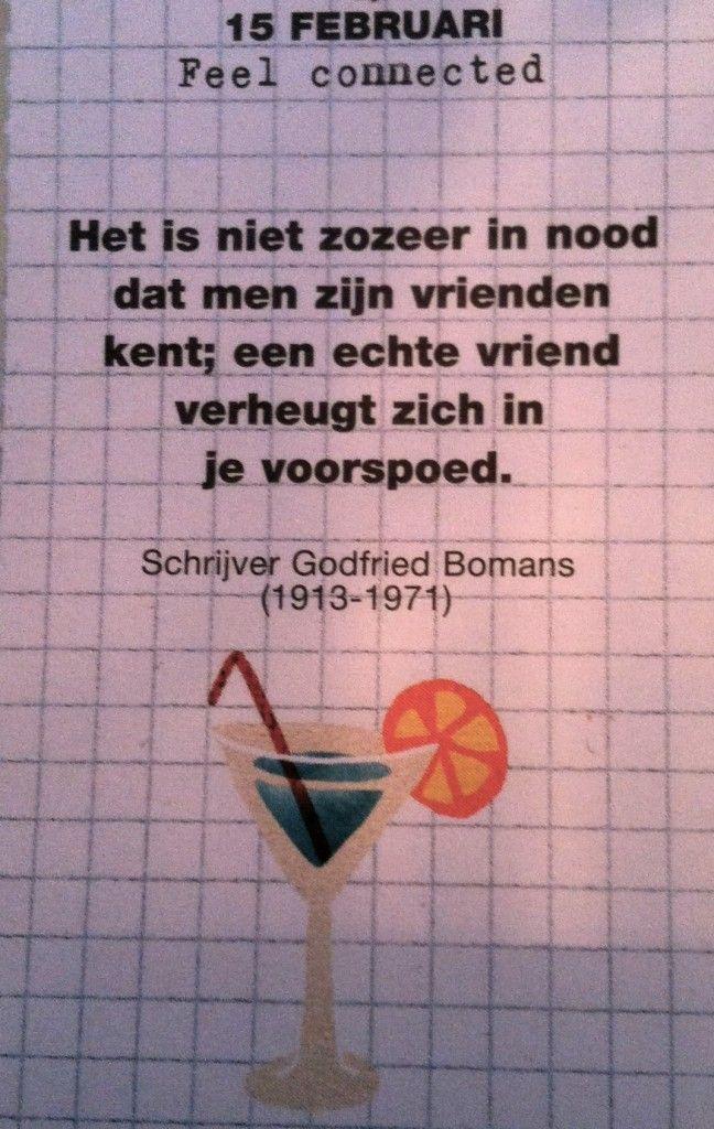 Een Mooie Spreuk Van Godfried Bomans Citaten Spreuken En