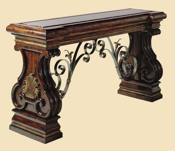 Milargo Hall Console Accessories Pinterest Consoles Tuscan Decor And Tuscan Style