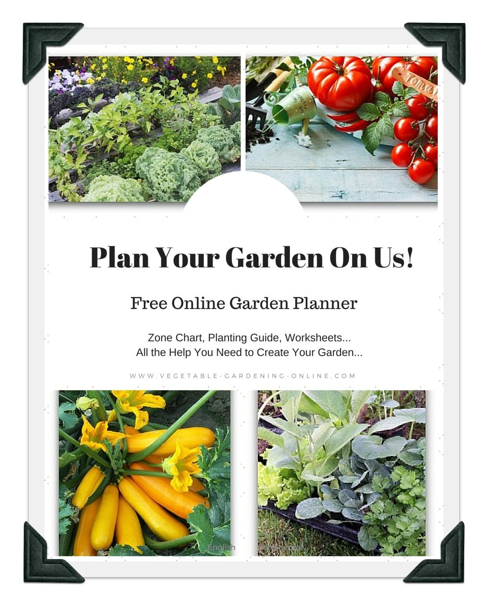 Use our free online Vegetable Garden Planner to design ...
