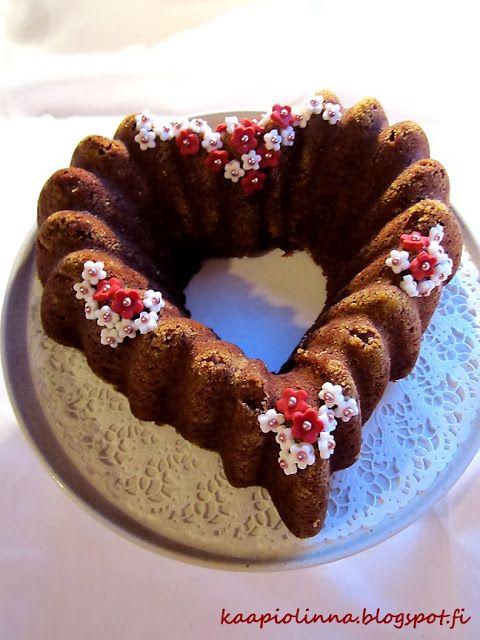 Kääpiölinnan köökissä: Way to bake (A delicious cake) - joulun ihana taatelikakku
