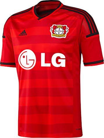 Bayer Leverkusen 15-16 Kits Released - Footy Headlines   Sports ...