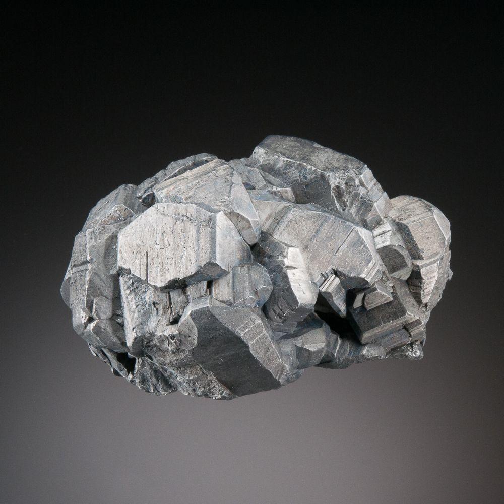 Bournonite, PbCuSbS3, Les Malines District, Saint-Laurent-Le-Minier, Gard, France. Dimensions 7.0 x 3.8 x 3.6 cm