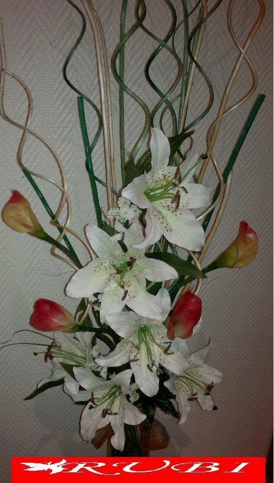 Diy Manualidades Arreglo Floral En Jarron Alto