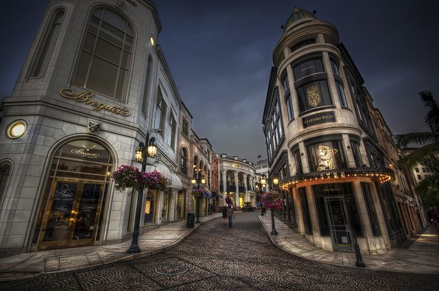 Rodeo Drive...