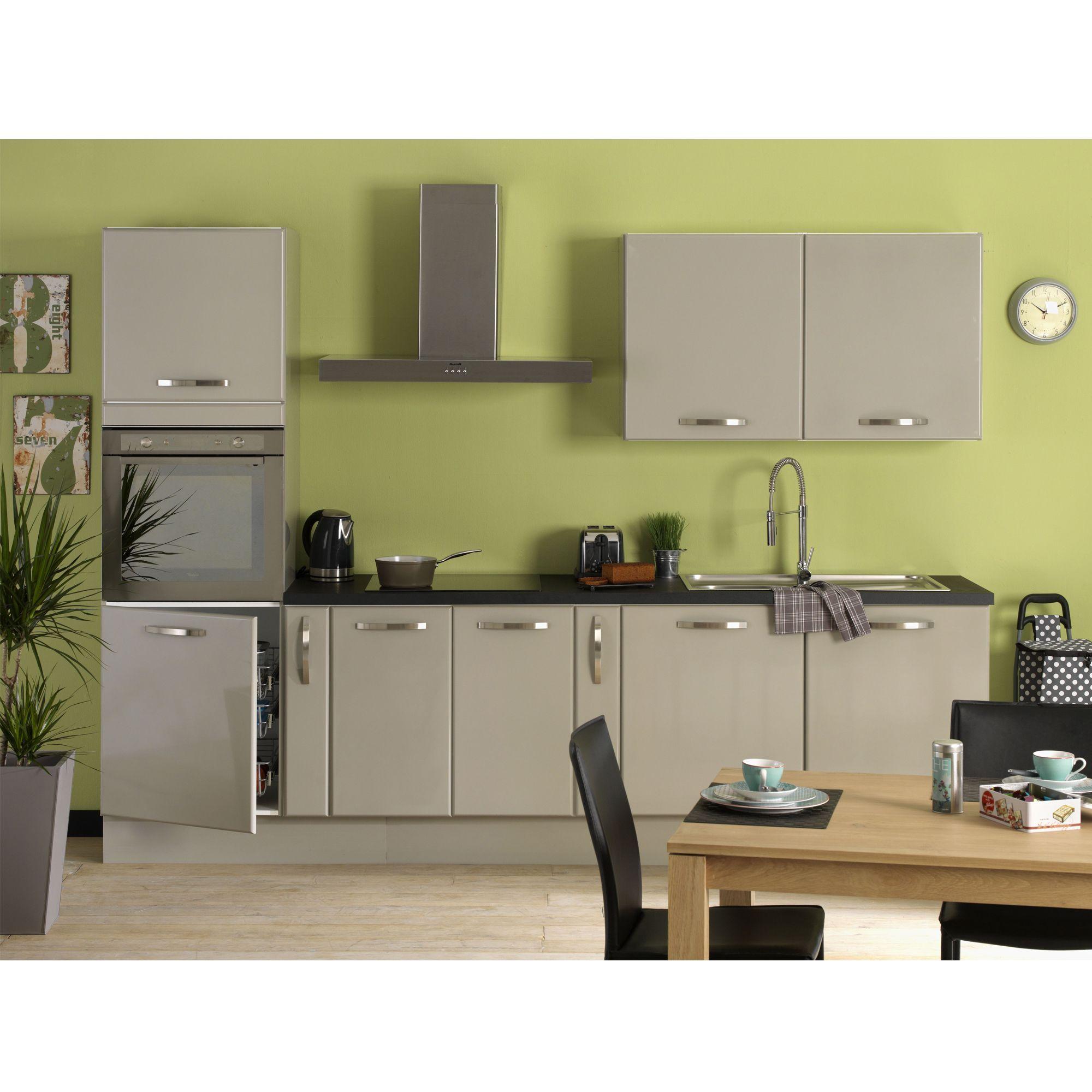 cuisine composer mod le type taupe eole les cuisines composer alin a meubles de. Black Bedroom Furniture Sets. Home Design Ideas