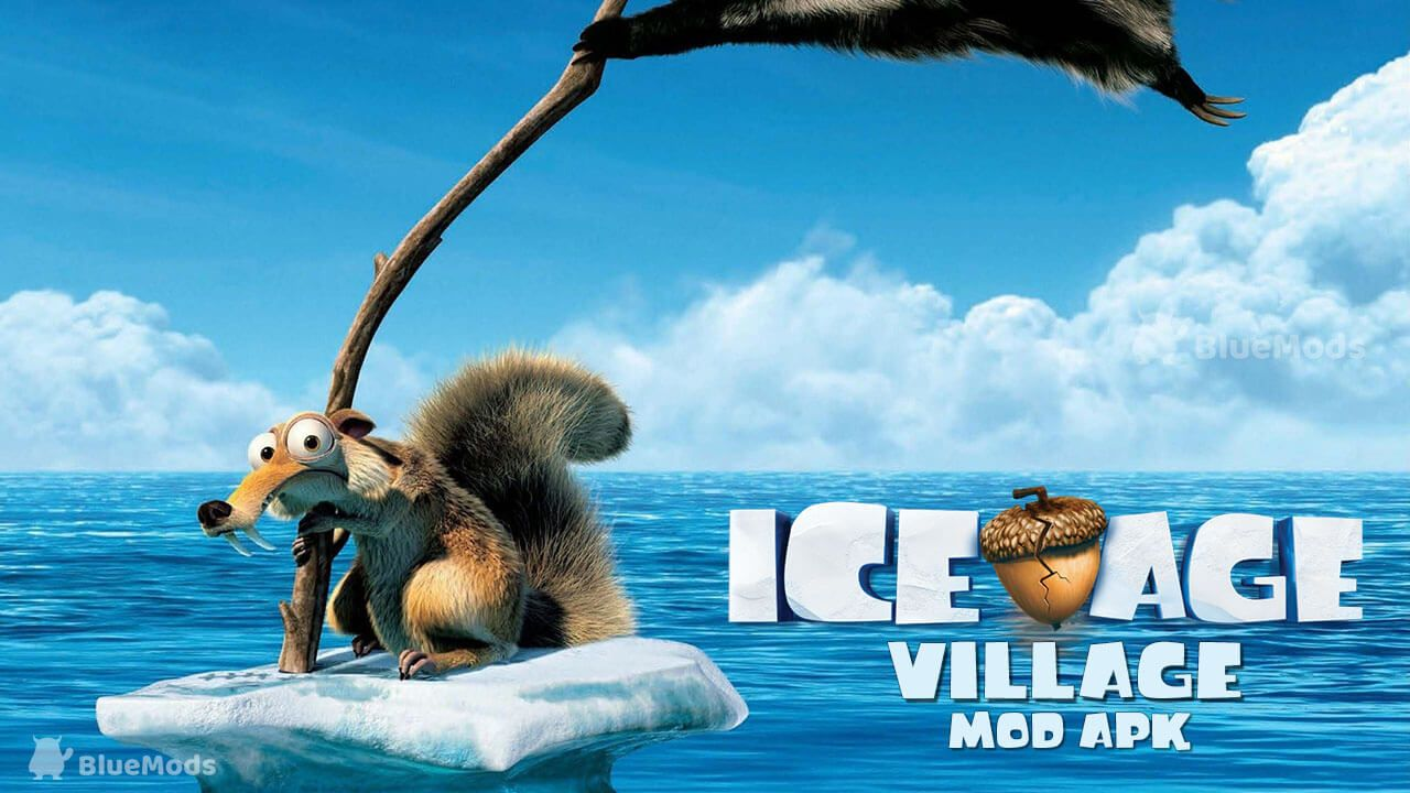 ice age village mod apk  unlimited coins and acorns  ice