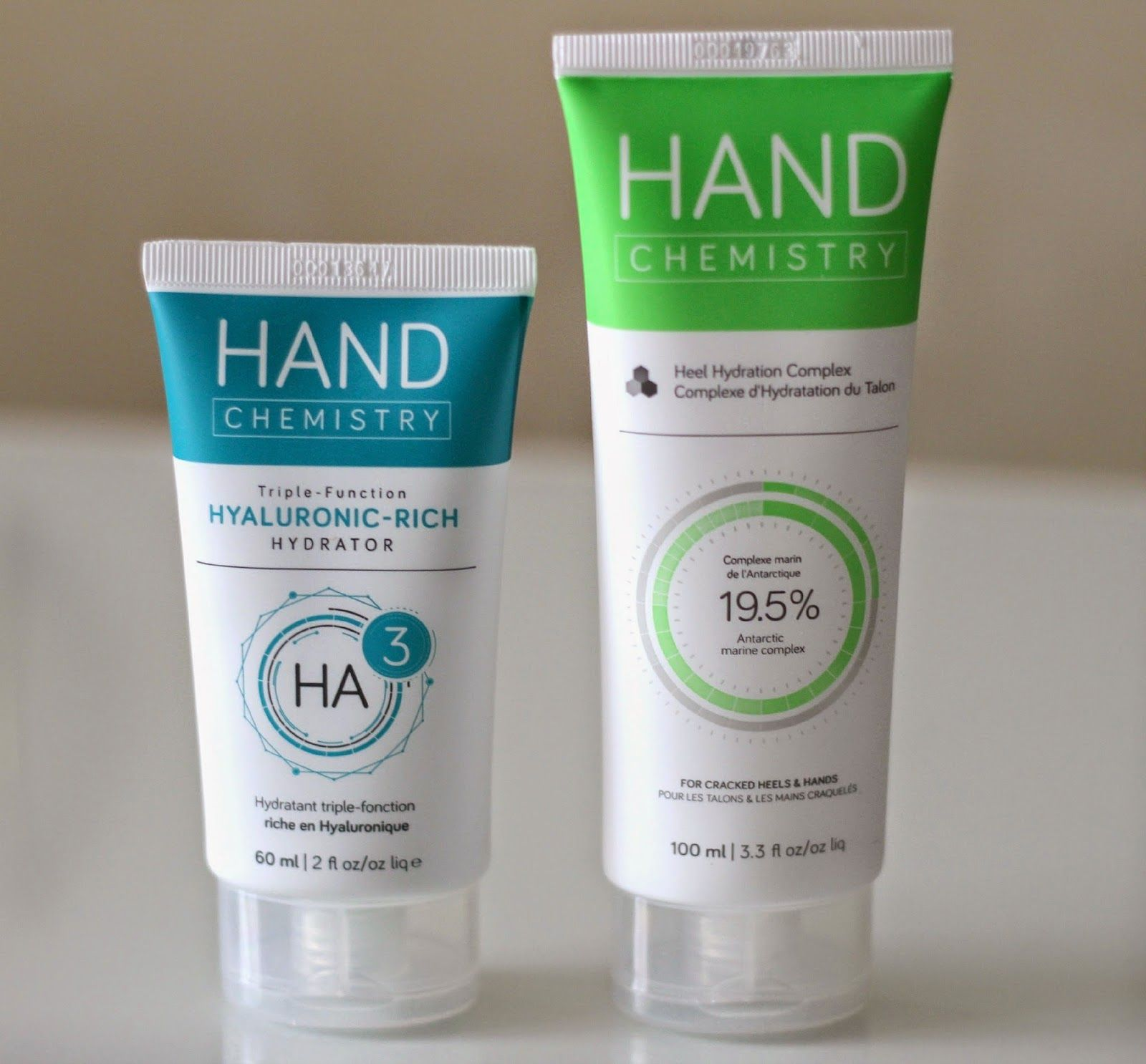 Natalie Loves Beauty: Hand Chemistry Triple-Function Hyaluronic-Rich Hydrator and Heel Hydration Complex | Review