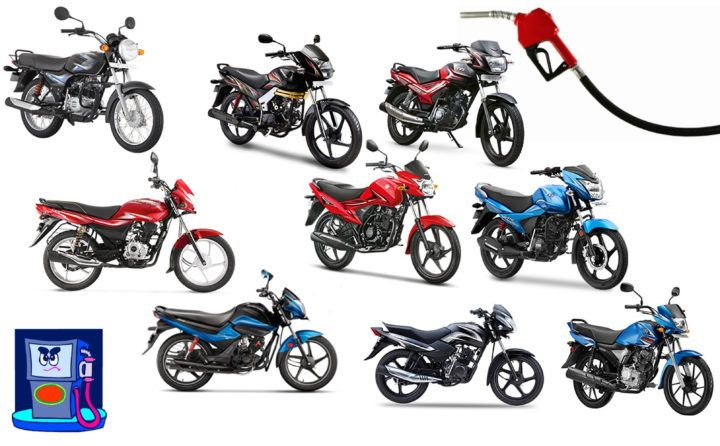 Best Bikes With Fuel Mileage Of 60 80 Kmpl Bike India Fuel Mileage Bike
