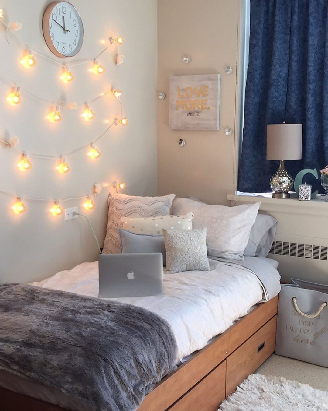 Bedroom Ideas For Small Rooms For Teens For Girls Fairy Lights
