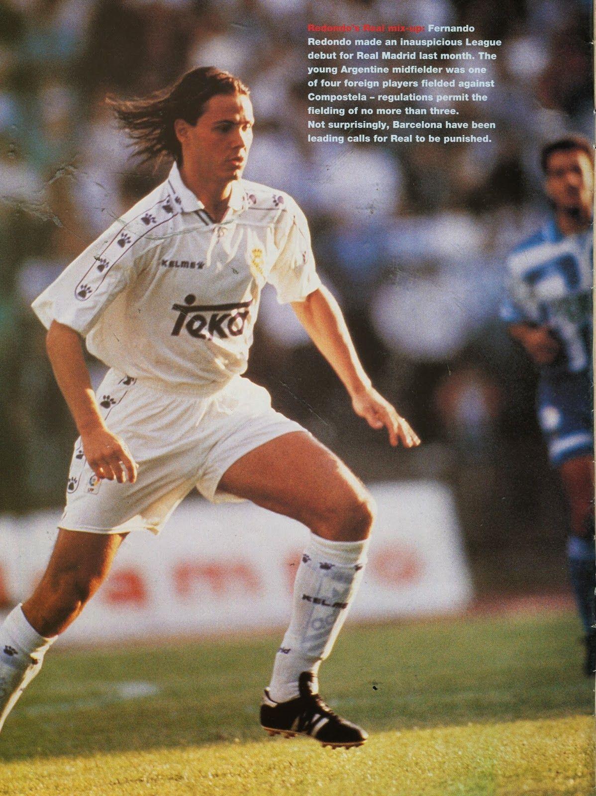 Fernando Redondo Real Madrid Real Madrid Pinterest