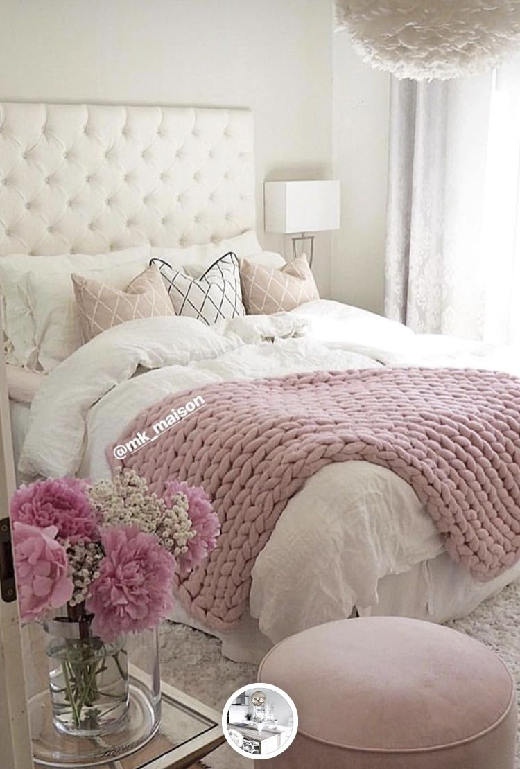 Pin by Rhiannon Finton on Master Bedroom in 2019 | Pink ...