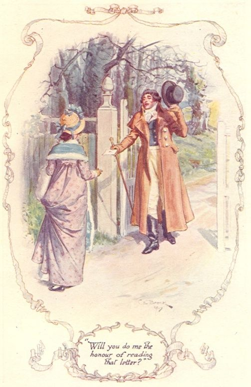 Pride and Prejudice (with the original watercolor illustrations by C.E. Brock)